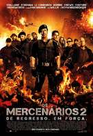 The Expendables 2 - Portuguese Movie Poster (xs thumbnail)