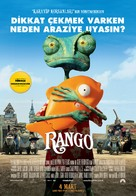 Rango - Turkish Movie Poster (xs thumbnail)