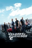 Furious 6 - Brazilian Movie Poster (xs thumbnail)