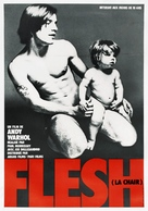 Flesh - French Movie Poster (xs thumbnail)