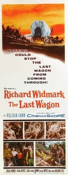 The Last Wagon - Movie Poster (xs thumbnail)