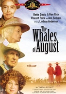 The Whales of August - DVD cover (xs thumbnail)