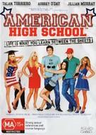 American High School - Australian DVD cover (xs thumbnail)