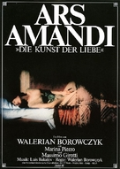 Ars amandi - German Movie Poster (xs thumbnail)