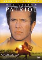 The Patriot - DVD movie cover (xs thumbnail)