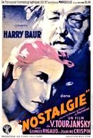 Nostalgie - French Movie Poster (xs thumbnail)