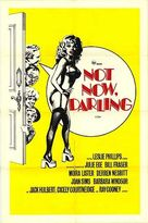 Not Now Darling - Movie Poster (xs thumbnail)