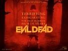 Evil Dead - British Movie Poster (xs thumbnail)