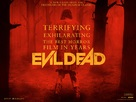 Evil Dead - British Movie Poster (xs thumbnail)