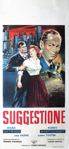 The Saxon Charm - Italian Movie Poster (xs thumbnail)