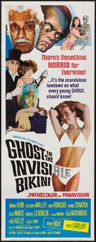 The Ghost in the Invisible Bikini - Movie Poster (xs thumbnail)