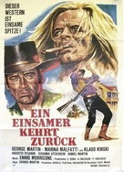 Il ritorno di Clint il solitario - German Movie Poster (xs thumbnail)