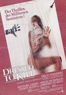 Dressed to Kill - German Movie Poster (xs thumbnail)