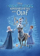 Olaf's Frozen Adventure - French DVD movie cover (xs thumbnail)