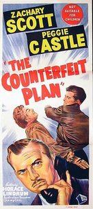 The Counterfeit Plan - Australian Movie Poster (xs thumbnail)
