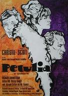 Petulia - German Movie Poster (xs thumbnail)