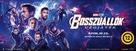 Avengers: Endgame - Hungarian poster (xs thumbnail)