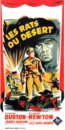 The Desert Rats - French Movie Poster (xs thumbnail)