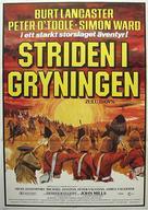 Zulu Dawn - Swedish Movie Poster (xs thumbnail)
