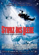 Touching the Void - German Movie Poster (xs thumbnail)