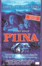 Misery - Finnish VHS movie cover (xs thumbnail)