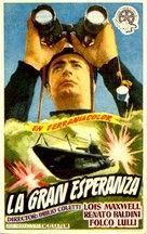 La grande speranza - Spanish Movie Poster (xs thumbnail)
