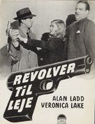 This Gun for Hire - Danish poster (xs thumbnail)