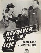 This Gun for Hire - Danish poster (xs thumbnail)