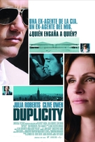 Duplicity - Argentinian Movie Cover (xs thumbnail)