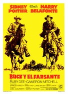 Buck and the Preacher - Spanish Movie Poster (xs thumbnail)