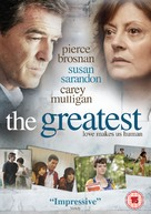 The Greatest - British DVD cover (xs thumbnail)