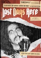 Last Days Here - DVD cover (xs thumbnail)