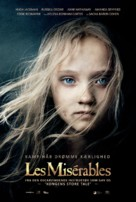 Les Misérables - Danish Movie Poster (xs thumbnail)