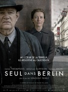 Alone in Berlin - French Movie Poster (xs thumbnail)