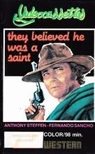 La caza del oro - Finnish VHS movie cover (xs thumbnail)