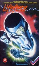 Lifeforce - British VHS movie cover (xs thumbnail)
