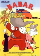 Babar: King of the Elephants - German Movie Poster (xs thumbnail)