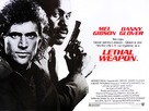 Lethal Weapon - British Movie Poster (xs thumbnail)