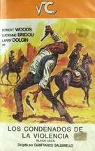 Black Jack - Spanish VHS movie cover (xs thumbnail)