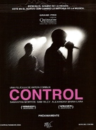 Control - Mexican Movie Poster (xs thumbnail)