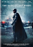 The Dark Knight Rises - Canadian DVD cover (xs thumbnail)
