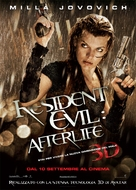 Resident Evil: Afterlife - Italian Movie Poster (xs thumbnail)