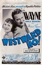 Westward Ho - Movie Poster (xs thumbnail)
