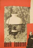 Le journal d'une femme de chambre - Czech Movie Poster (xs thumbnail)