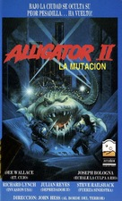 Alligator II: The Mutation - Argentinian VHS movie cover (xs thumbnail)