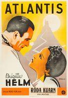 L'Atlantide - Swedish Movie Poster (xs thumbnail)