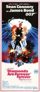 Diamonds Are Forever - Australian Theatrical poster (xs thumbnail)