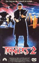 Trancers II - German VHS cover (xs thumbnail)