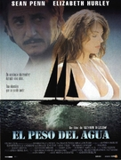 The Weight of Water - Spanish Movie Poster (xs thumbnail)