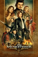 The Three Musketeers - Danish Movie Poster (xs thumbnail)